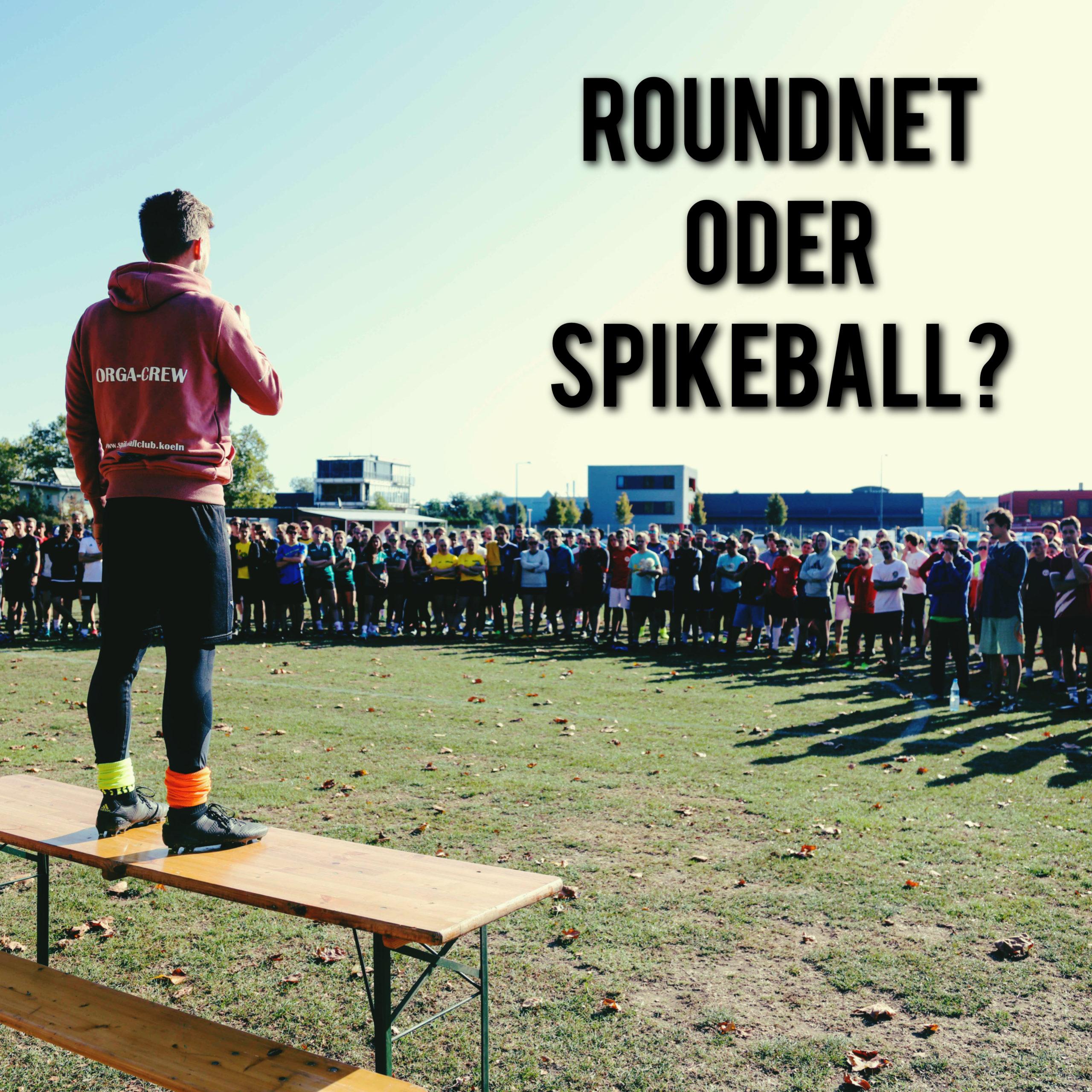 """Info: Nutzung der Bezeichnungen """"Roundnet"""" und """"Spikeball"""""""
